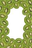 Het frame van de kiwi Stock Foto