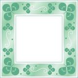 Het frame van de klaver Stock Illustratie