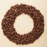 Het frame van de koffie royalty-vrije stock fotografie