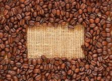 Het frame van de koffie stock fotografie