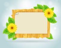 Het frame van de lente Royalty-vrije Stock Afbeeldingen