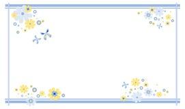 Het frame van de lente Royalty-vrije Stock Foto's