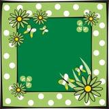 Het frame van de lente vector illustratie