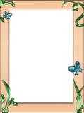 Het frame van de lente Royalty-vrije Stock Fotografie