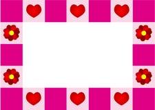 Het frame van de liefde Royalty-vrije Stock Foto