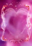 Het Frame van de liefde Royalty-vrije Stock Afbeeldingen