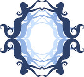 Het frame van de meermin Royalty-vrije Stock Fotografie