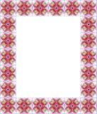 Het frame van de orchidee stock illustratie
