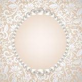 Het frame van de parel Royalty-vrije Stock Foto