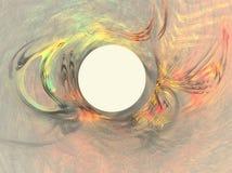 Het frame van de pastelkleur Stock Fotografie