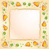 Het frame van de peer Stock Foto's
