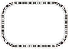 Het Frame van de piano Royalty-vrije Stock Fotografie