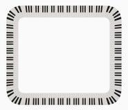 Het frame van de piano Stock Afbeelding