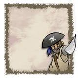 Het Frame van de piraat Stock Foto