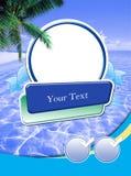 Het frame van de reclame malplaatje Stock Afbeelding