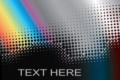 Het frame van de regenboog voor tekst. Royalty-vrije Stock Afbeelding
