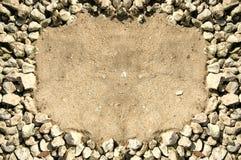 Het frame van de rots stock afbeeldingen