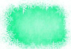 Het frame van de sneeuw Stock Fotografie