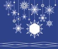 Het frame van de sneeuwvlok Royalty-vrije Illustratie