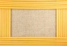 Het frame van de spaghetti Royalty-vrije Stock Fotografie