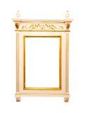 Het frame van de spiegel stock afbeeldingen