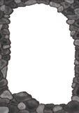 Het frame van de steen Stock Foto