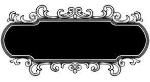 Het frame van de titelopdruk royalty-vrije illustratie