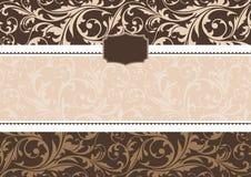 Het frame van de uitnodiging Royalty-vrije Stock Afbeeldingen