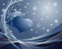 Het frame van de valentijnskaart Royalty-vrije Stock Foto's