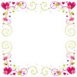 Het frame van de valentijnskaart Royalty-vrije Stock Foto
