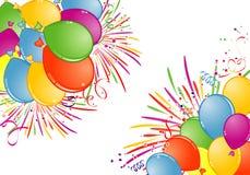 Het Frame van de verjaardag vector illustratie