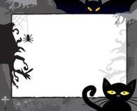 Het frame van de verschrikking voor Halloween vector illustratie