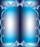 Het frame van de vlinder Stock Foto