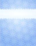 Het frame van de winter Royalty-vrije Stock Afbeelding