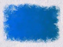 Het frame van de winter Royalty-vrije Stock Afbeeldingen