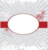Het frame van de winter Stock Afbeeldingen