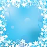 Het frame van de winter. Royalty-vrije Stock Afbeeldingen