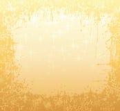 Het frame van de winter goud royalty-vrije illustratie