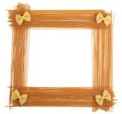 Het frame van deegwaren royalty-vrije stock foto