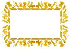 Het frame van deegwaren Stock Fotografie