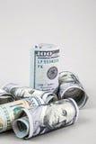 Het Frame van dollars Stock Foto's