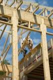 Het frame van een huis 1 Stock Afbeeldingen