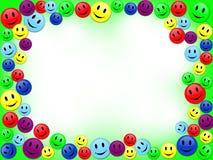 Het frame van glimlachen Royalty-vrije Stock Afbeeldingen