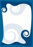 Het frame van golven stock illustratie
