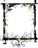 Het frame van Grunge en grensreeks Royalty-vrije Stock Afbeeldingen