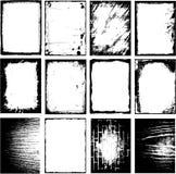 Het frame van Grunge grens royalty-vrije illustratie