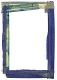 Het frame van Grunge grens Stock Foto's