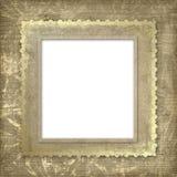 Het frame van Grunge voor de uitnodiging Stock Foto's