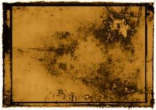 Het frame van Grunge voor tekst of art. stock illustratie
