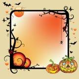 Het frame van Halloween Stock Foto